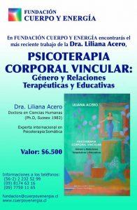 ¡Ya está a la venta!: Psicoterapia Corporal Vincular: Relaciones Terapéuticas y Educativas