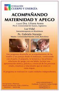 Próximamente un nuevo programa: acompañando materinidad y apego