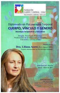 Charla informativa del Diplomado en Psicoterapia Corporal Vincular 2017